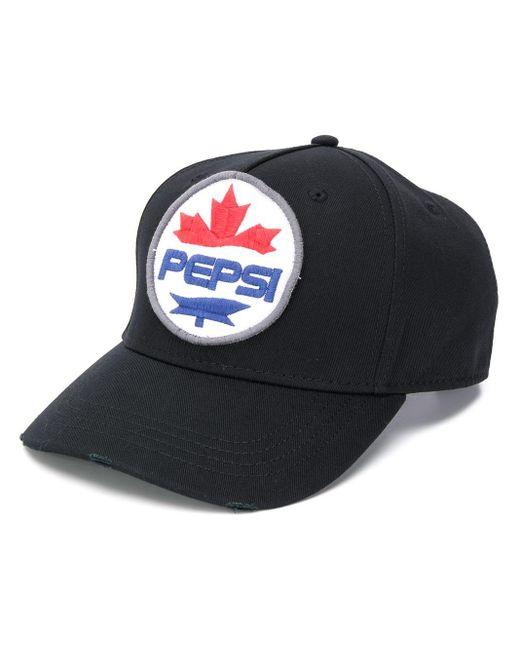 メンズ DSquared² Pepsi ベースボールキャップ Black