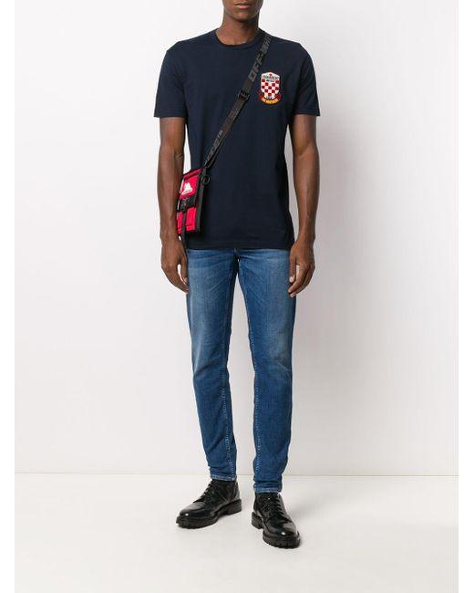 メンズ Department 5 スキューバ スリムジーンズ Blue