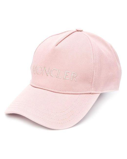 Moncler ロゴ キャップ Pink