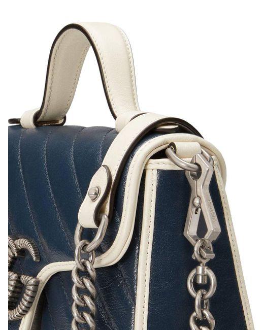 Bolso GG Marmont mini Gucci de color Blue
