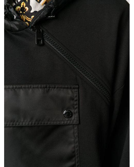 Худи С Объемным Карманом Dolce & Gabbana для него, цвет: Black