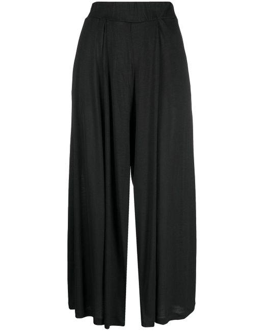 Pantalon ample court Henrik Vibskov en coloris Black