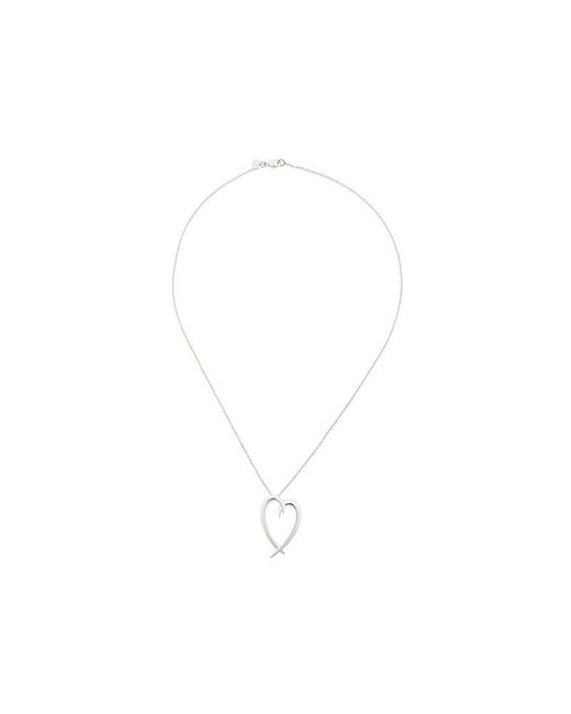 Shaun Leane - Metallic Signature Tusk Heart Necklace - Lyst