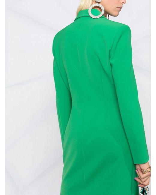Boutique Moschino ダブルブレスト ドレス Green