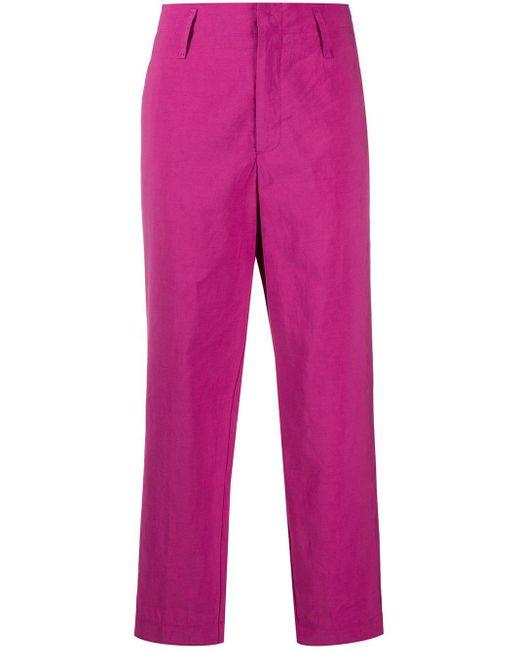 Брюки Прямого Кроя Forte Forte, цвет: Pink