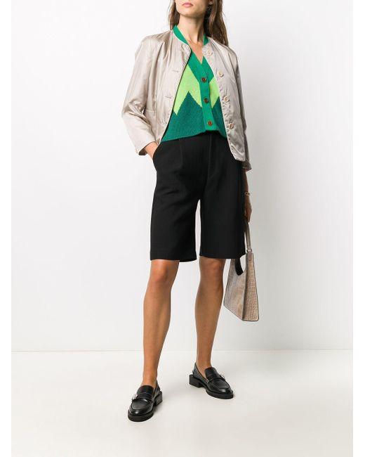 Aspesi ノーカラー ジャケット Multicolor