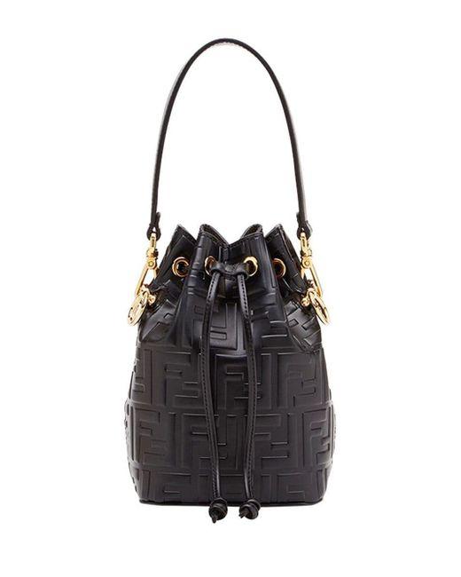 Мини-сумка Mon Tresor Fendi, цвет: Black
