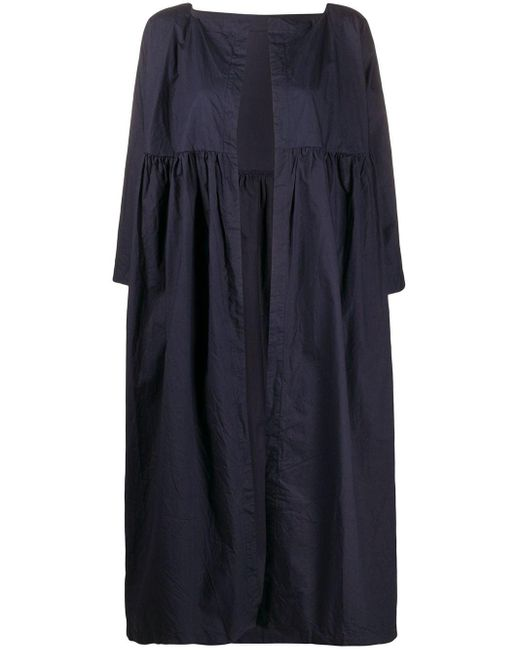 Daniela Gregis オーバーサイズ コート Blue