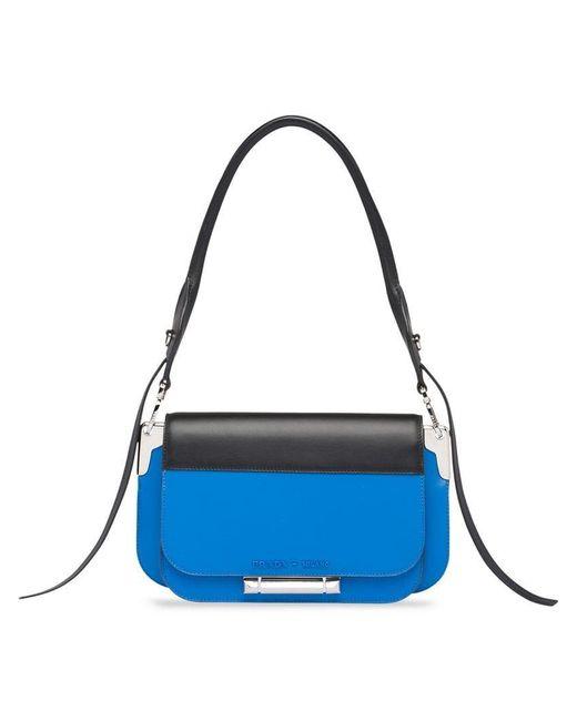 Prada - Blue Sybille Shoulder Bag - Lyst ... 2741f2628b5fd