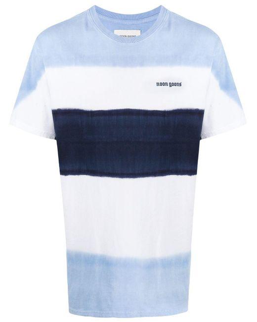 メンズ Noon Goons ストライプ Tシャツ Blue