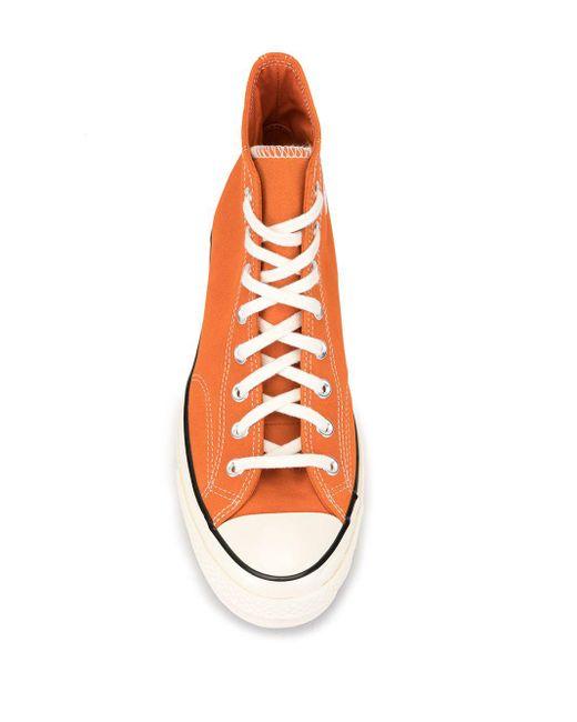 converse all star femme orange