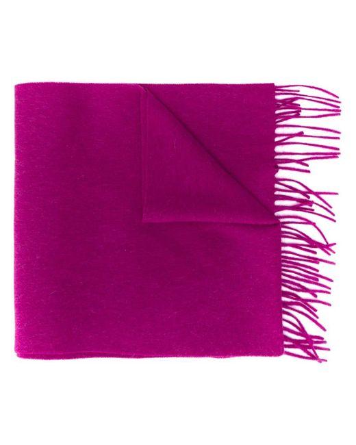 N.Peal Cashmere カシミア スカーフ Purple