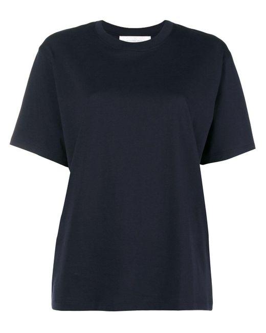 Victoria, Victoria Beckham コットン Tシャツ Blue