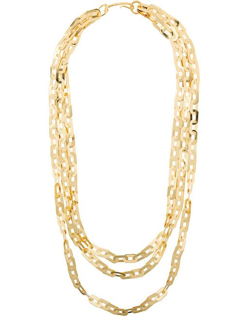 Wouters & Hendrix - Metallic Technofossils Chain Necklace - Lyst