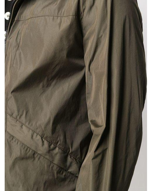 メンズ Hogan フーデッド ライトジャケット Green