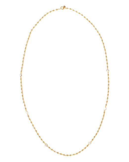 Buddha Mama ダイヤモンド ネックレス 20kイエローゴールド Metallic