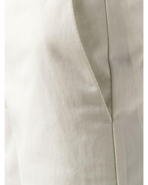 Golden Goose Deluxe Brand ハイウエストパンツ White