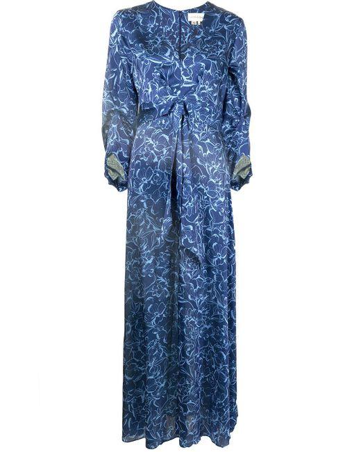 Sachin & Babi Sherri ドレス Blue