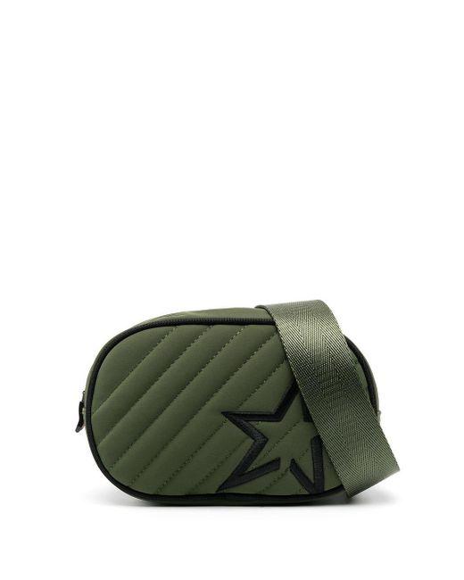 Стеганая Поясная Сумка С Вышитым Логотипом Perfect Moment, цвет: Green