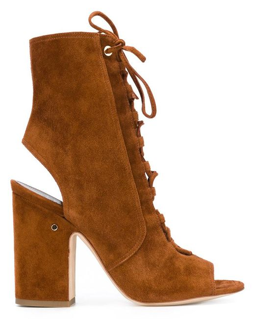 Laurence Dacade | Brown Lace Up Boots | Lyst