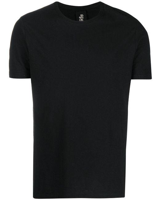 メンズ Thom Krom クロスディテール Tシャツ Black