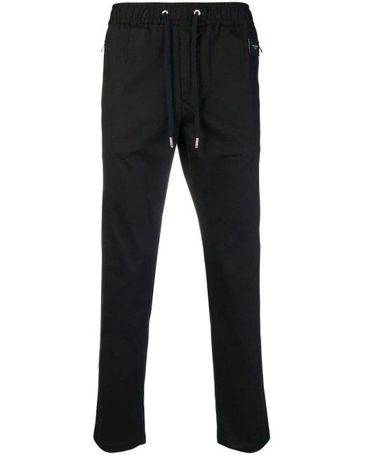 メンズ Dolce & Gabbana トラックパンツ Black