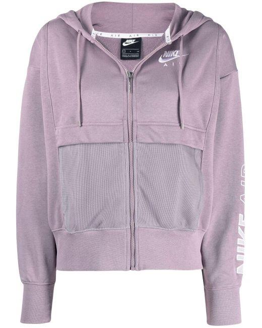 Nike フーデッド ジャケット Purple