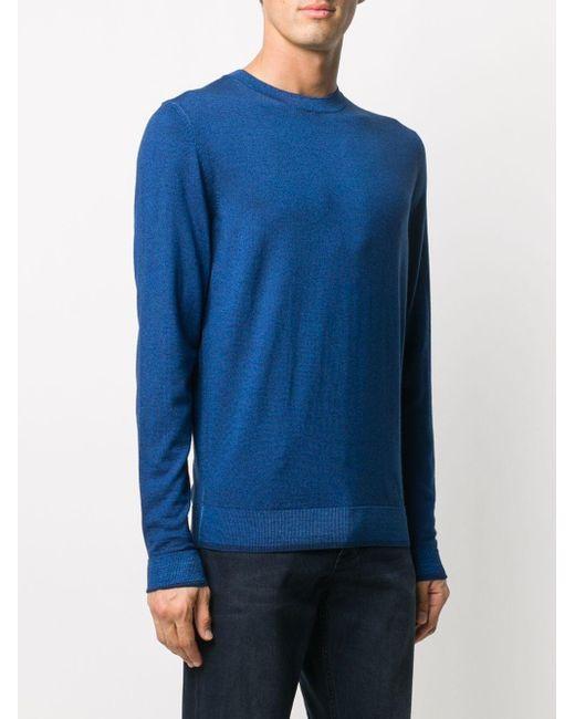 メンズ BOSS by Hugo Boss ファインニット セーター Blue