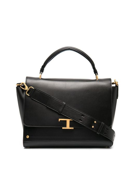 Tod's T Timeless ハンドバッグ Black
