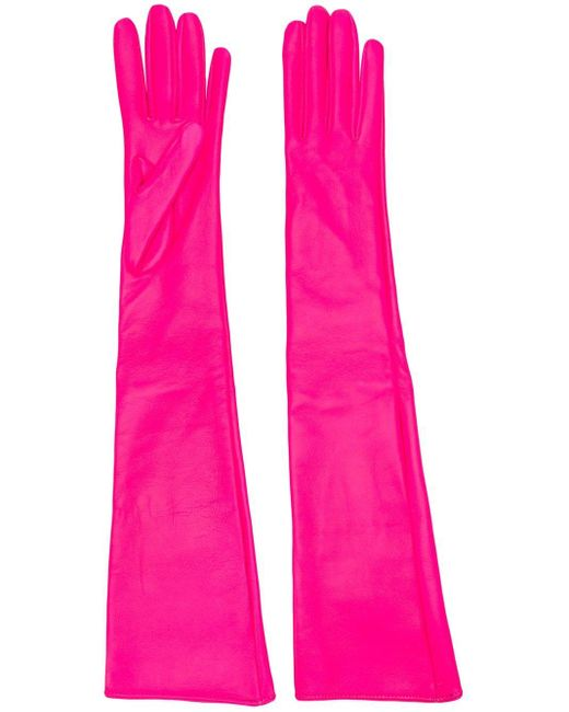 Manokhi ロンググローブ Pink