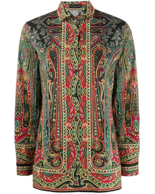 Etro ペイズリー Tシャツ Multicolor