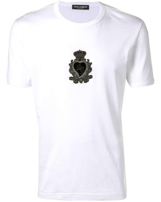 メンズ Dolce & Gabbana Dg Tシャツ White