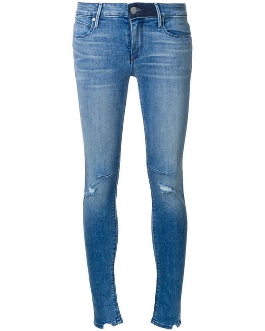 RTA - Blue 'prince' Skinny Jeans - Lyst