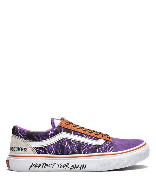 Кеды Old Skool Vans для него, цвет: Purple