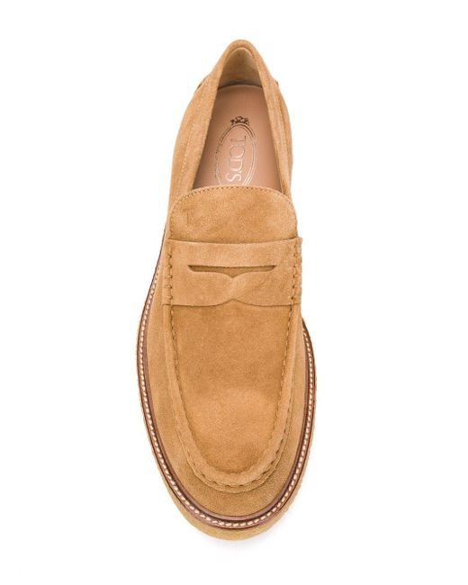 dd50b149c24 ... Tod s - Natural Rubber Sole Penny Loafers for Men - Lyst