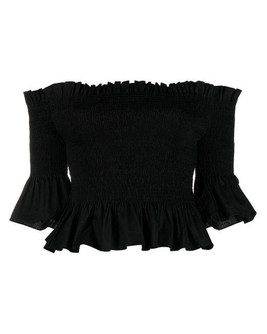 Blusa con spalle scoperte di Patrizia Pepe in Black