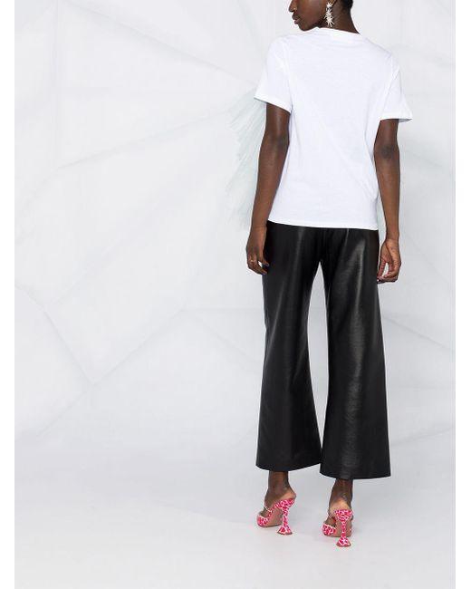 Loulou チュール Tシャツ White