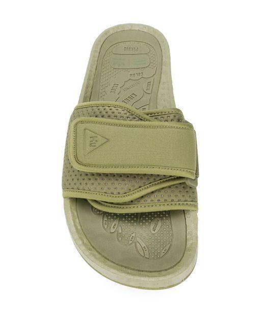 Adidas Originals ストラップ サンダル Green
