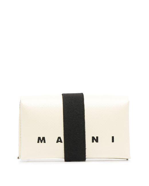 Marni Multicolor Origami Logo-print Pvc Wallet for men