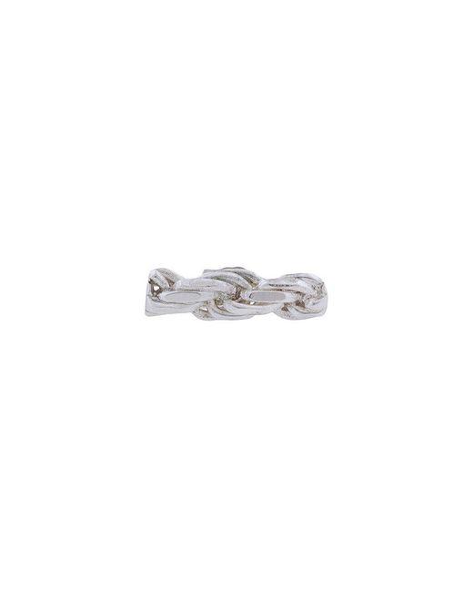 Www. Will Shott - Metallic Chain Strip Earrings - Lyst