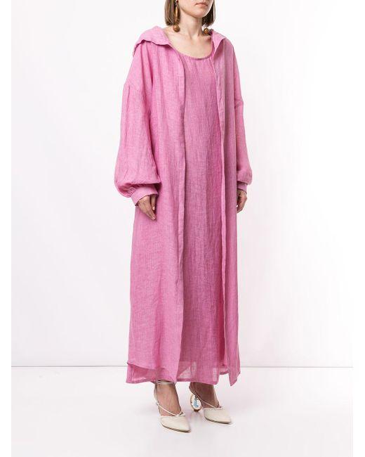 Bambah Marrakesh Isabella カフタン&ドレス Pink