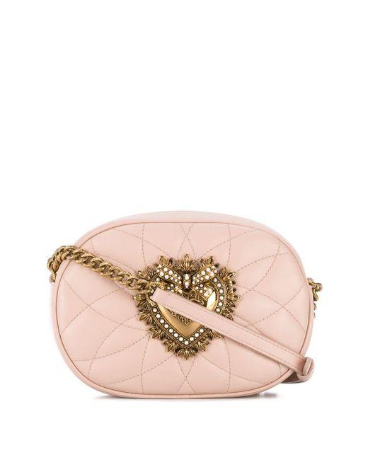 Dolce & Gabbana Devotion カメラバッグ Pink