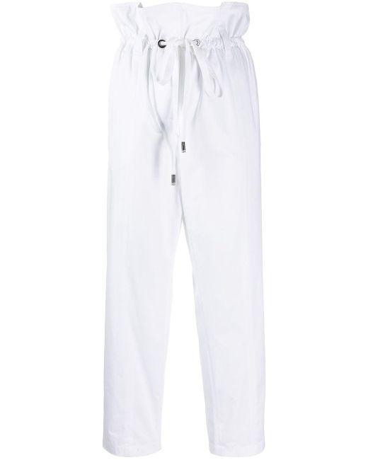 Dolce & Gabbana ペーパーバッグウエスト パンツ White
