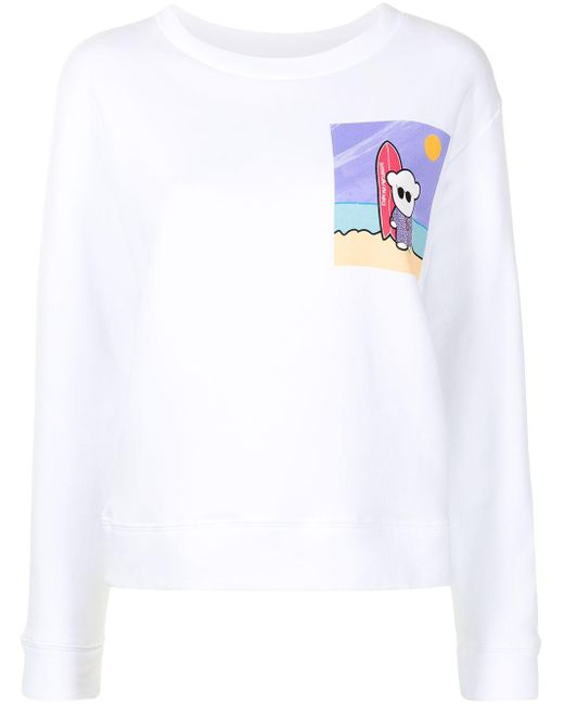 Emporio Armani ロゴ スウェットシャツ White