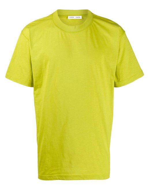 メンズ Cmmn Swdn Ridley ルーズフィット Tシャツ Yellow