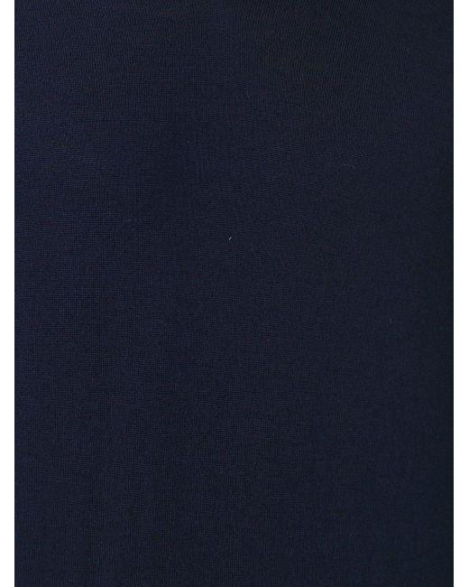 メンズ Brunello Cucinelli Vネックセーター Blue