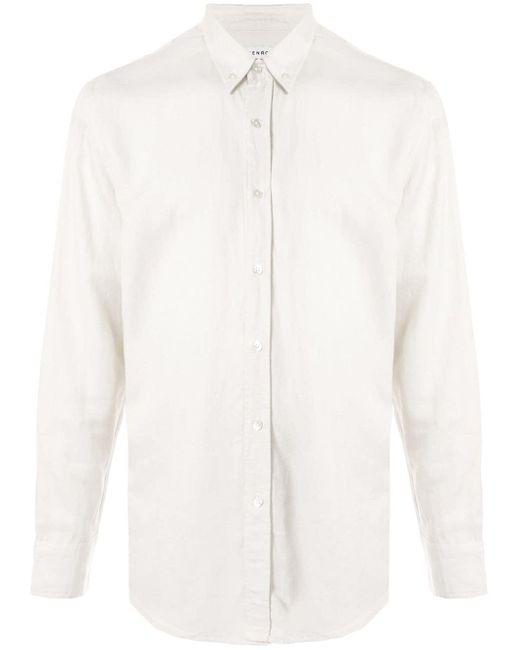 Venroy White Fitted Shirt for men