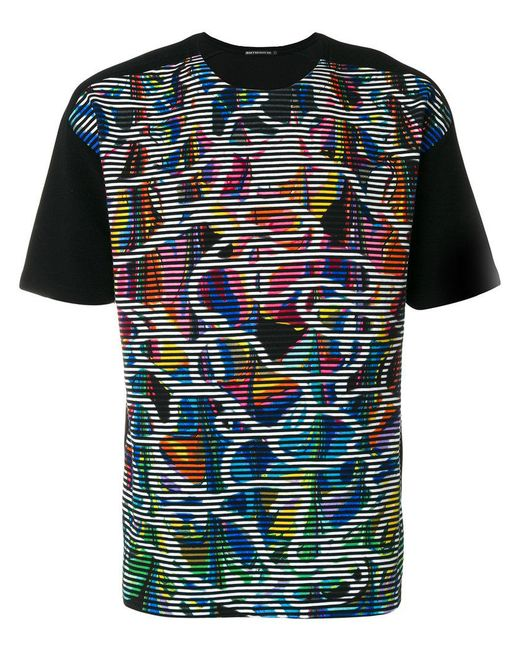 Issey Miyake - Black Colourful Print T-shirt for Men - Lyst