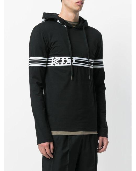 KTZ ロゴ パーカー Black