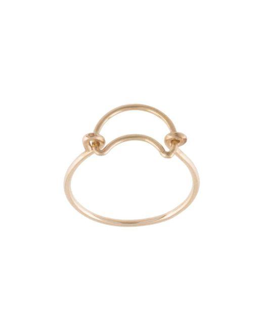 Кольцо С Подвеской Petite Grand, цвет: Metallic